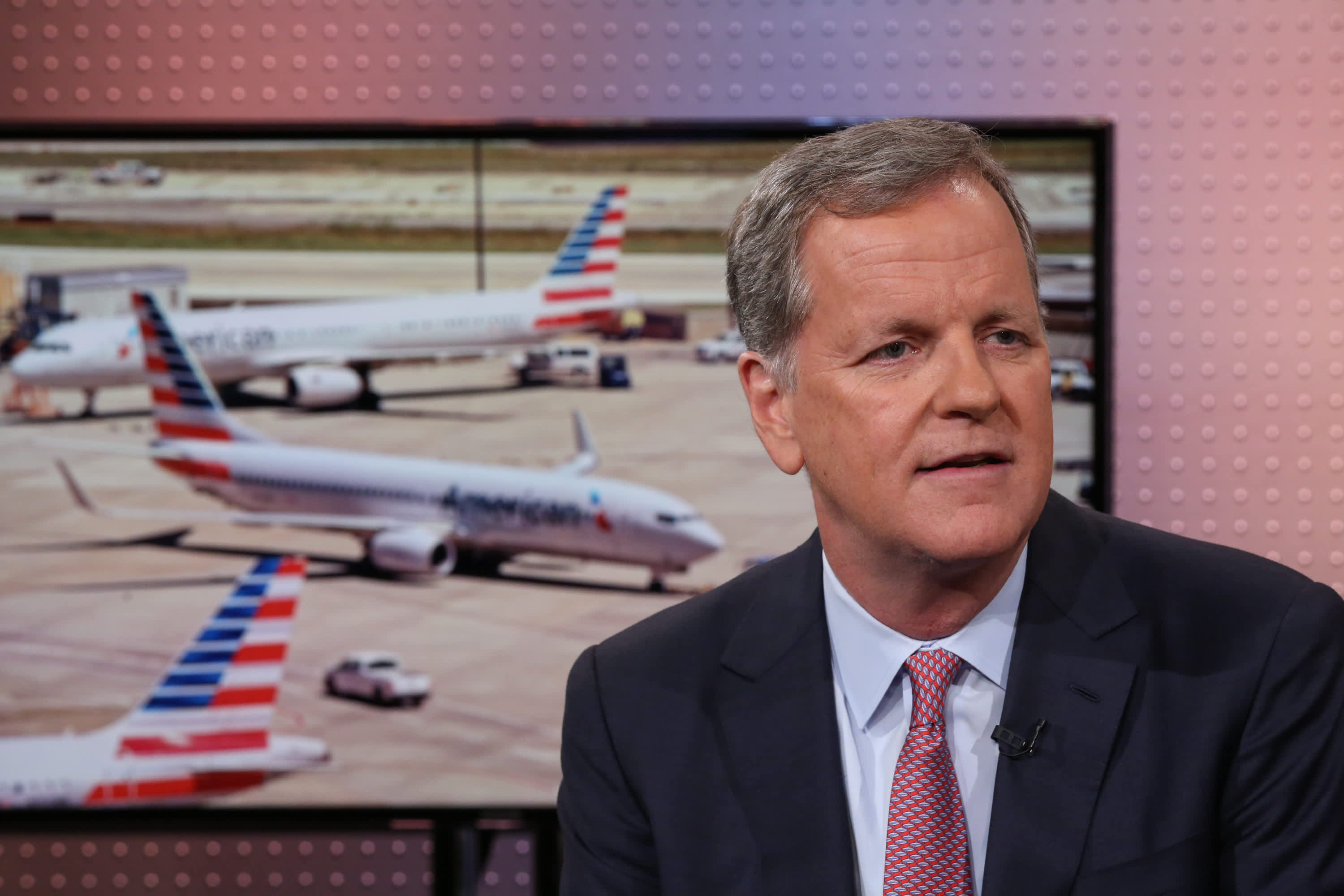 American Airlines CEO says it 'feels like we're at the bottom' as revenue tumbles 90%