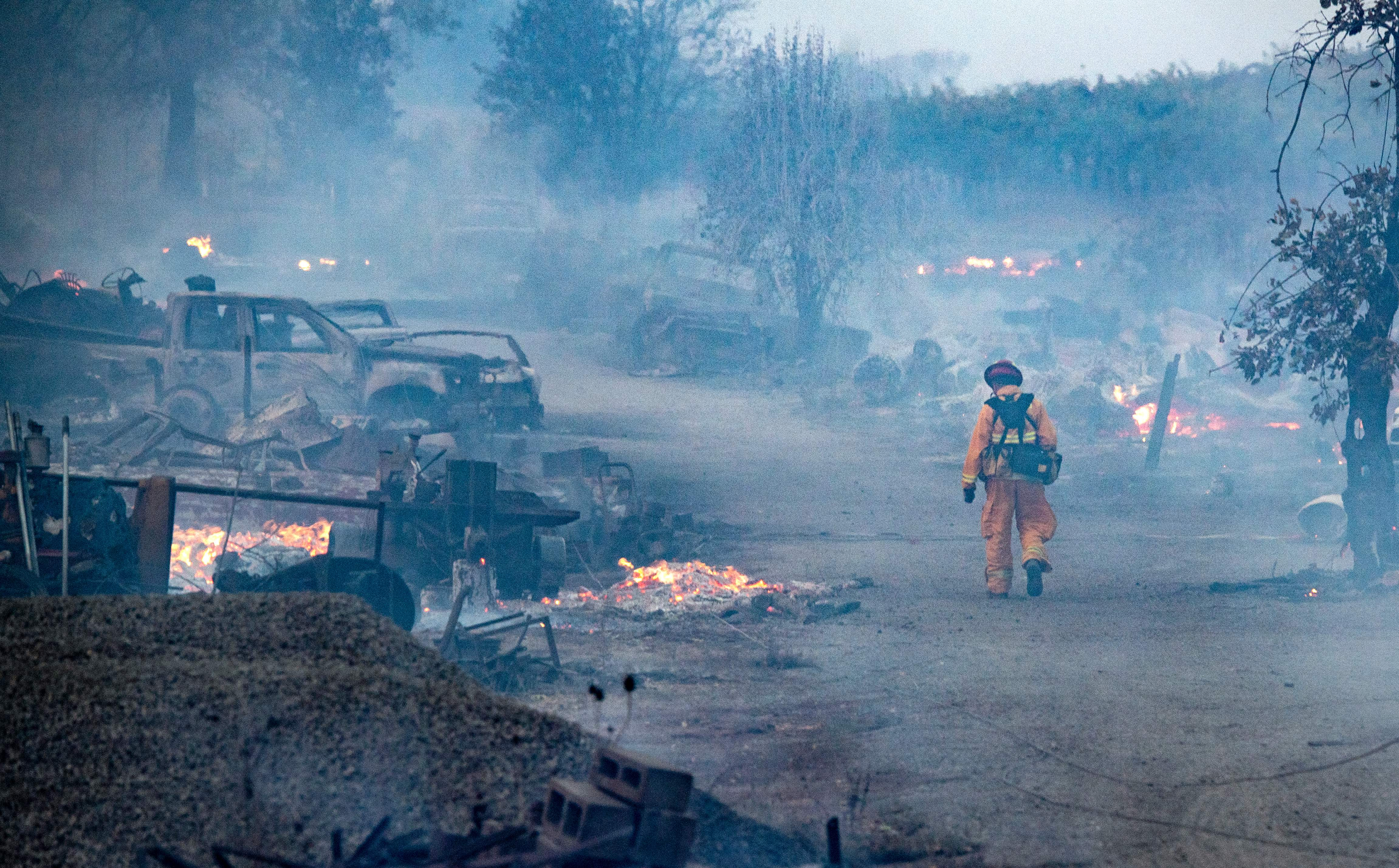 A rising number of US companies are flagging wildfire risk as suppression costs climb