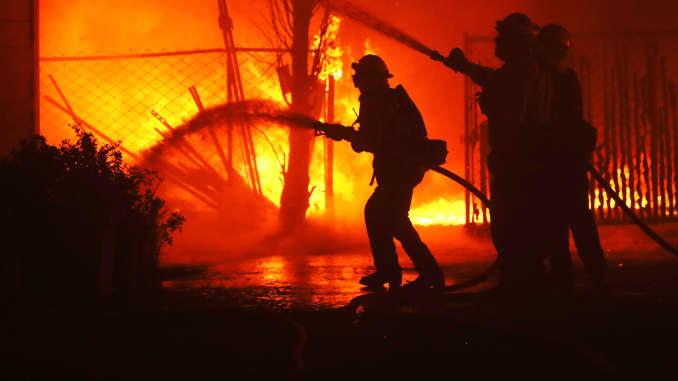 GP: Kincade Fire California wildfires 191027