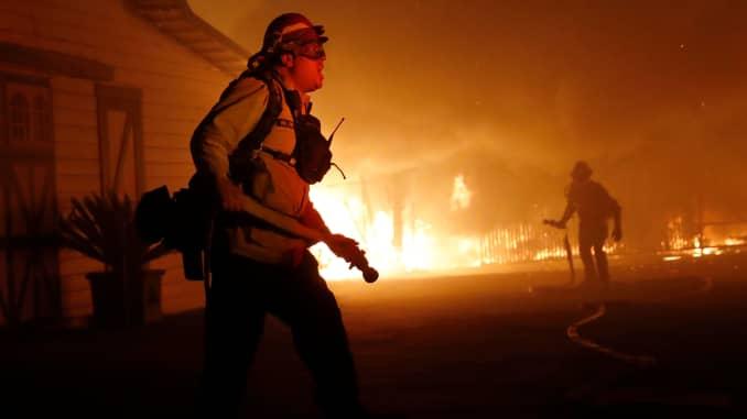 RT: California wildfire Kincade 191027