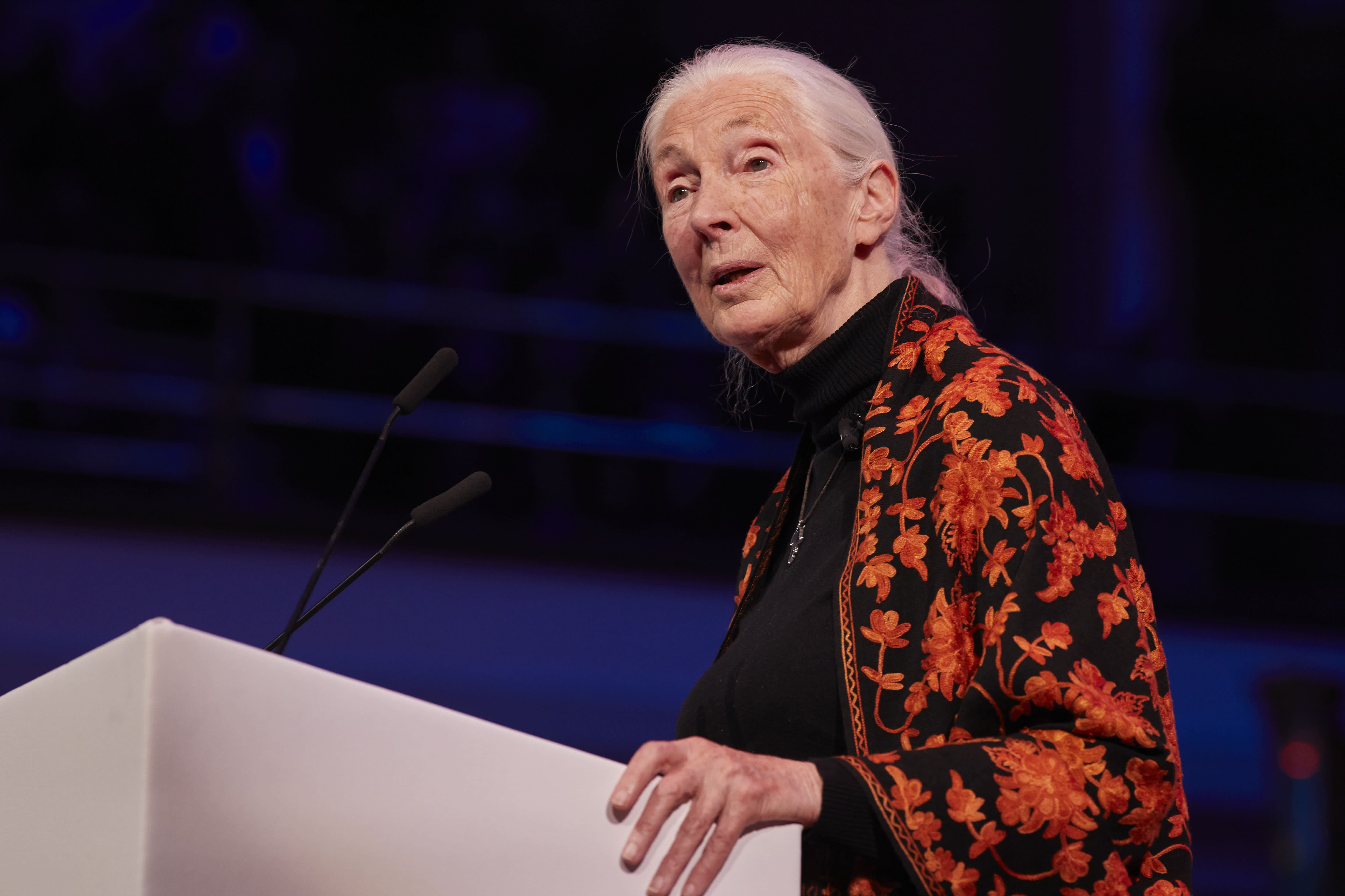 Jane Goodall was told she was 'just a girl.' But grew up to redefine mankind