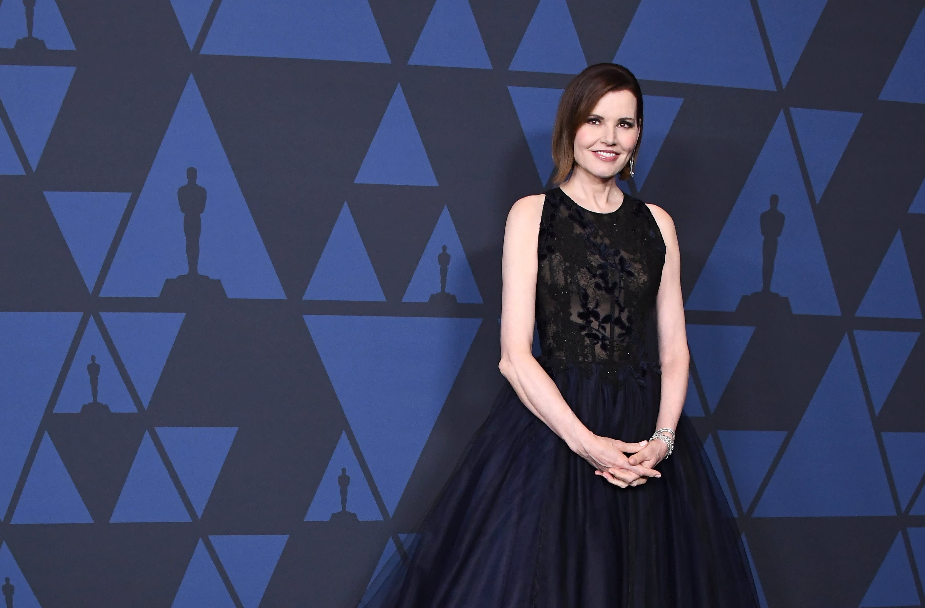 Geena Davis wins honorary Oscar for fighting onscreen gender bias