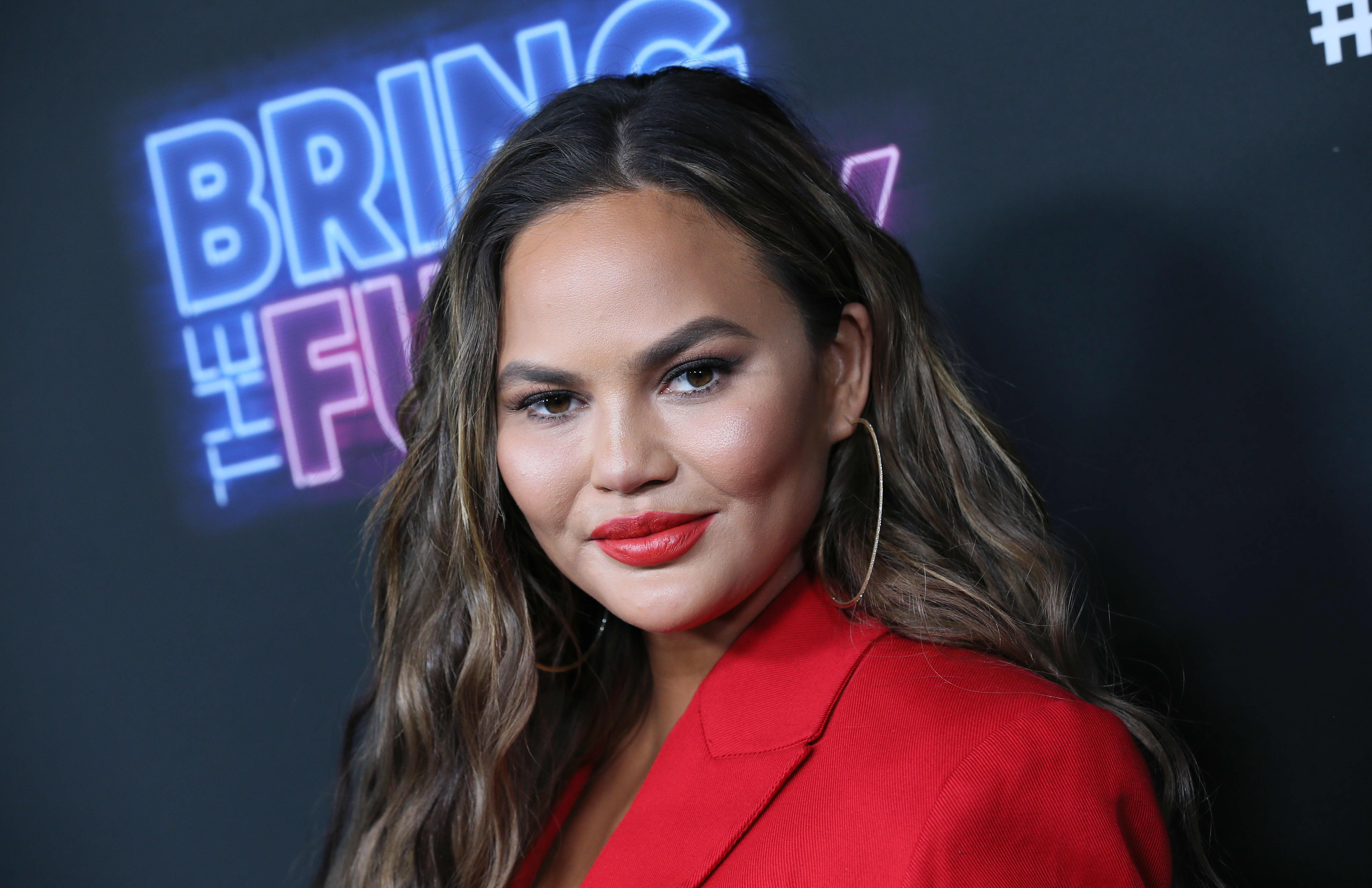 Chrissy Teigen didn't have a bank account and ate McDonald's to save money at the start of her career