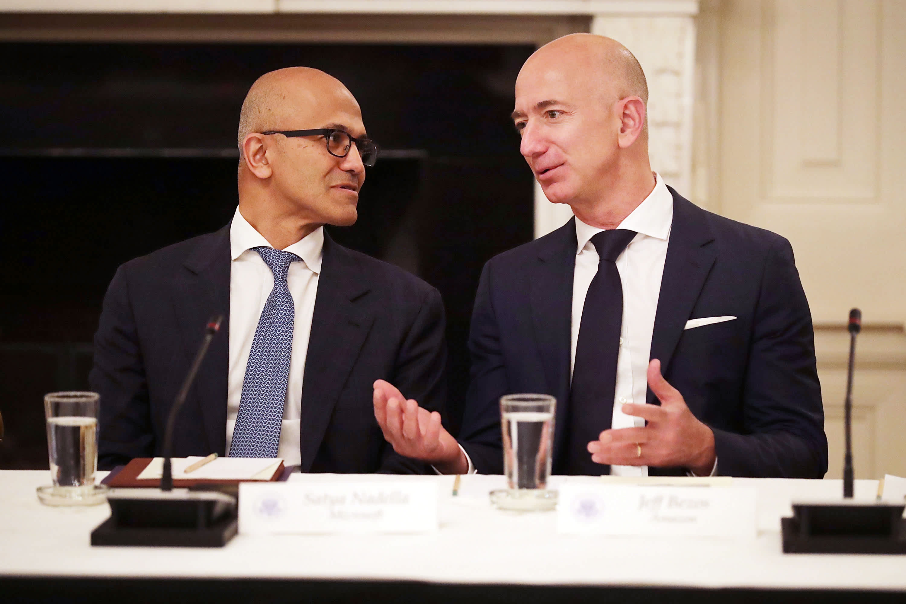 Microsoft unveils Azure Orbital competing with Amazon to connect satellites to the cloud – CNBC