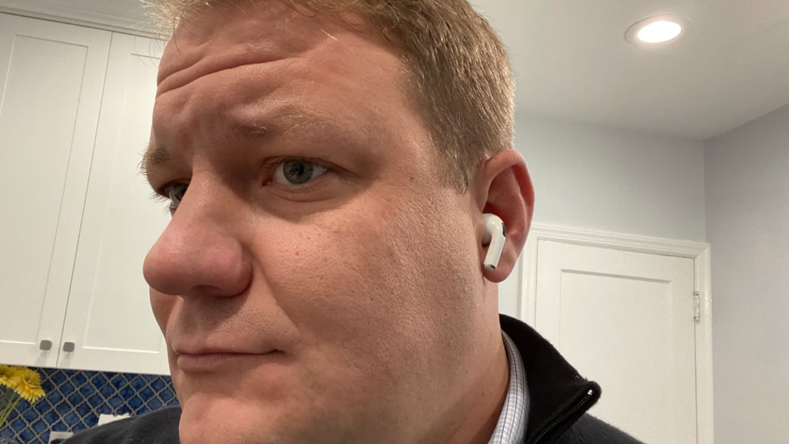 airpods pro in ear look