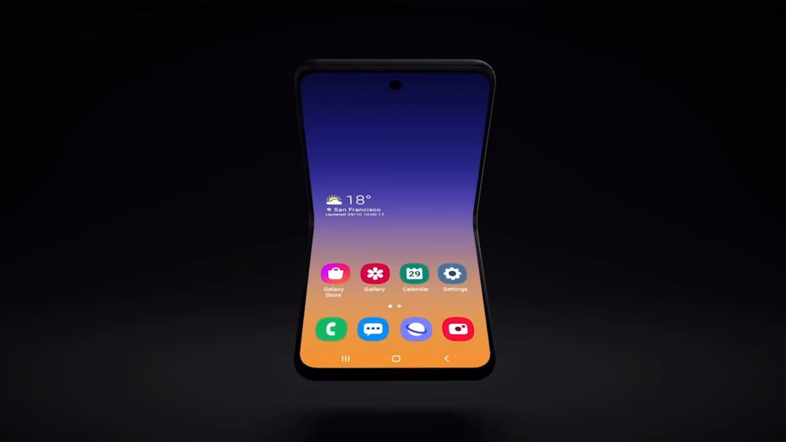 Samsung To Launch Foldable Phone With New Design In 2020