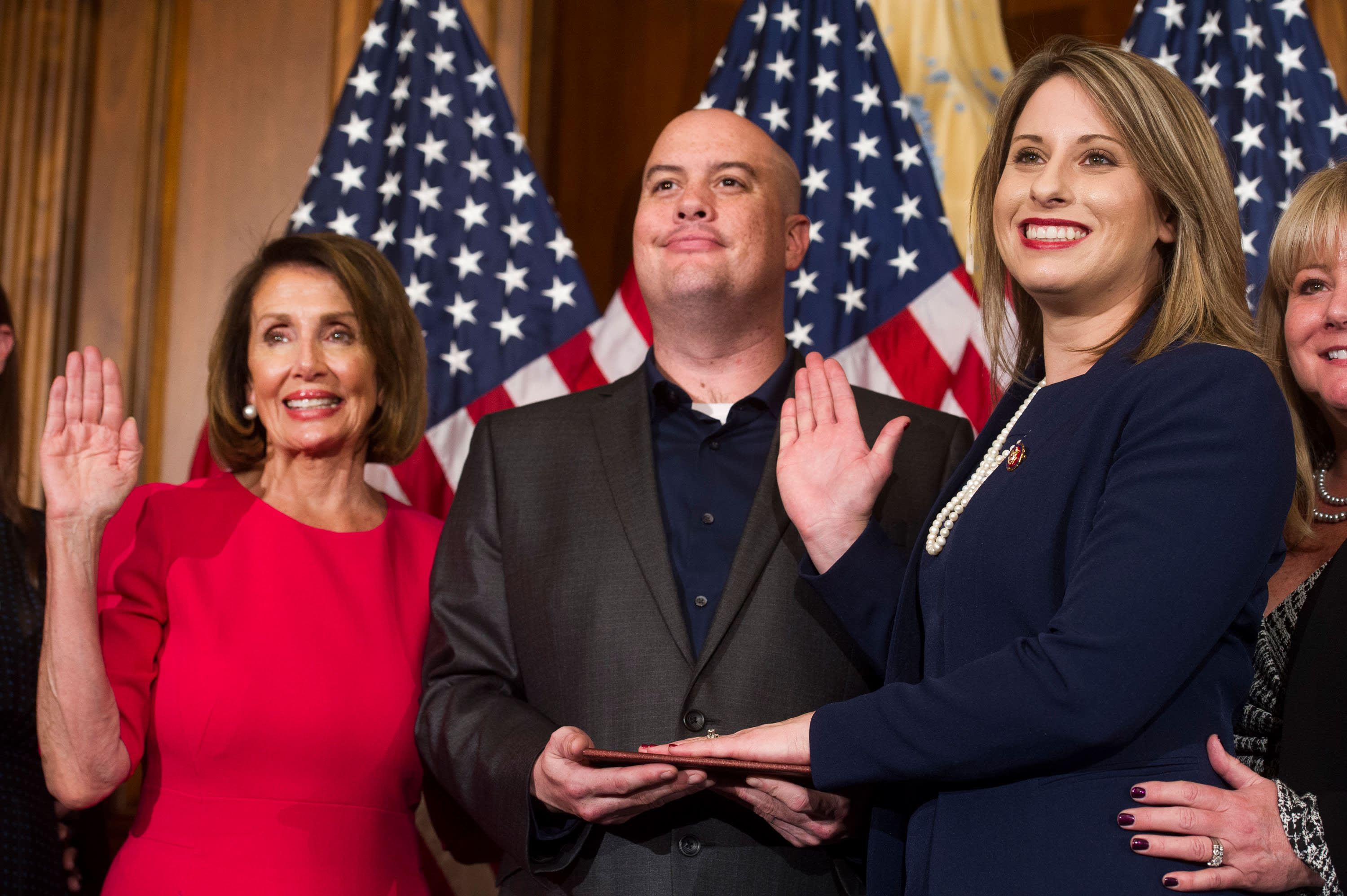 Rep. Katie Hill's husband claimed his computer was 'hacked' before her private photos appeared online, report says
