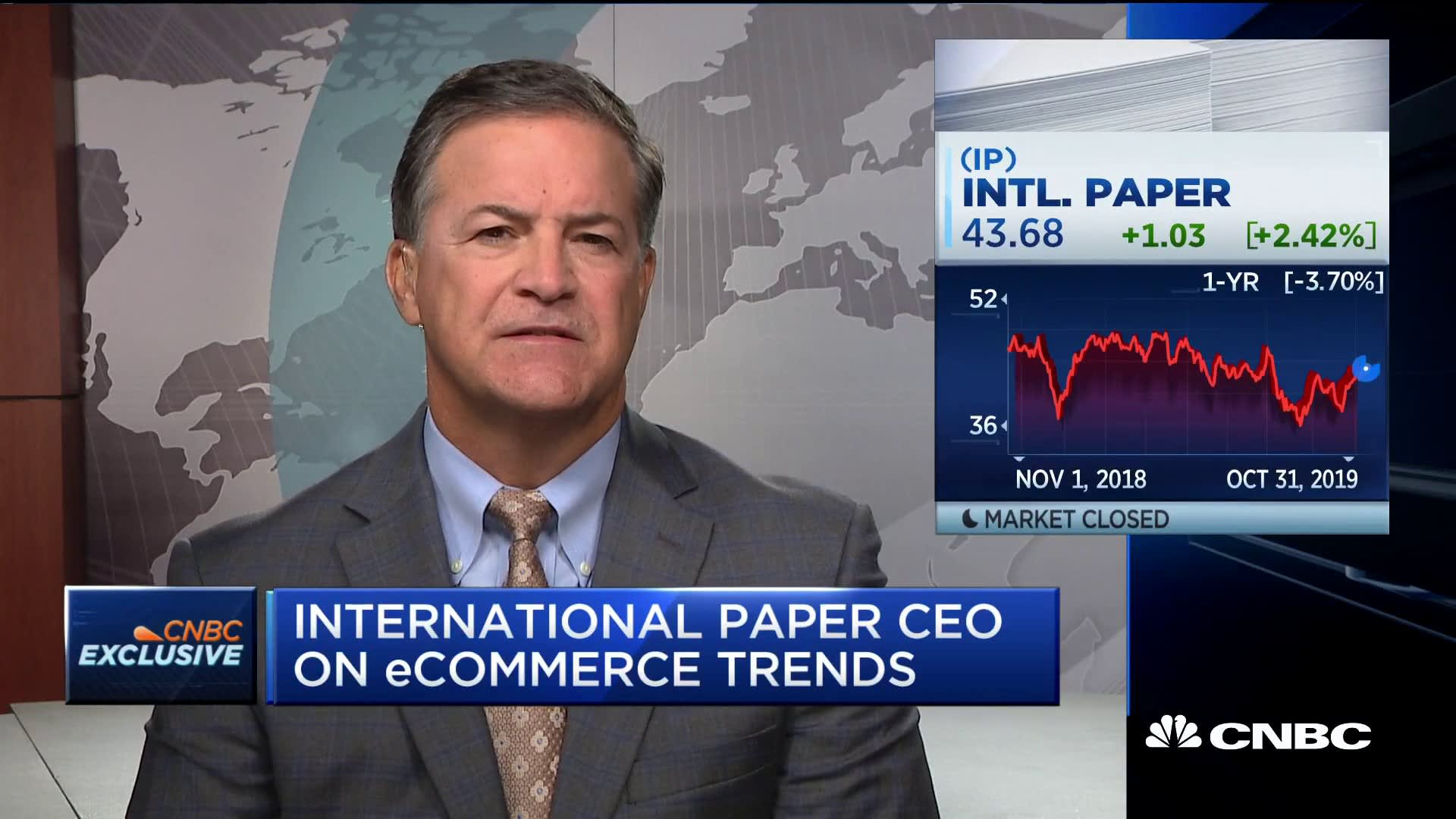 Sutton: US demand strong but global demand in decline