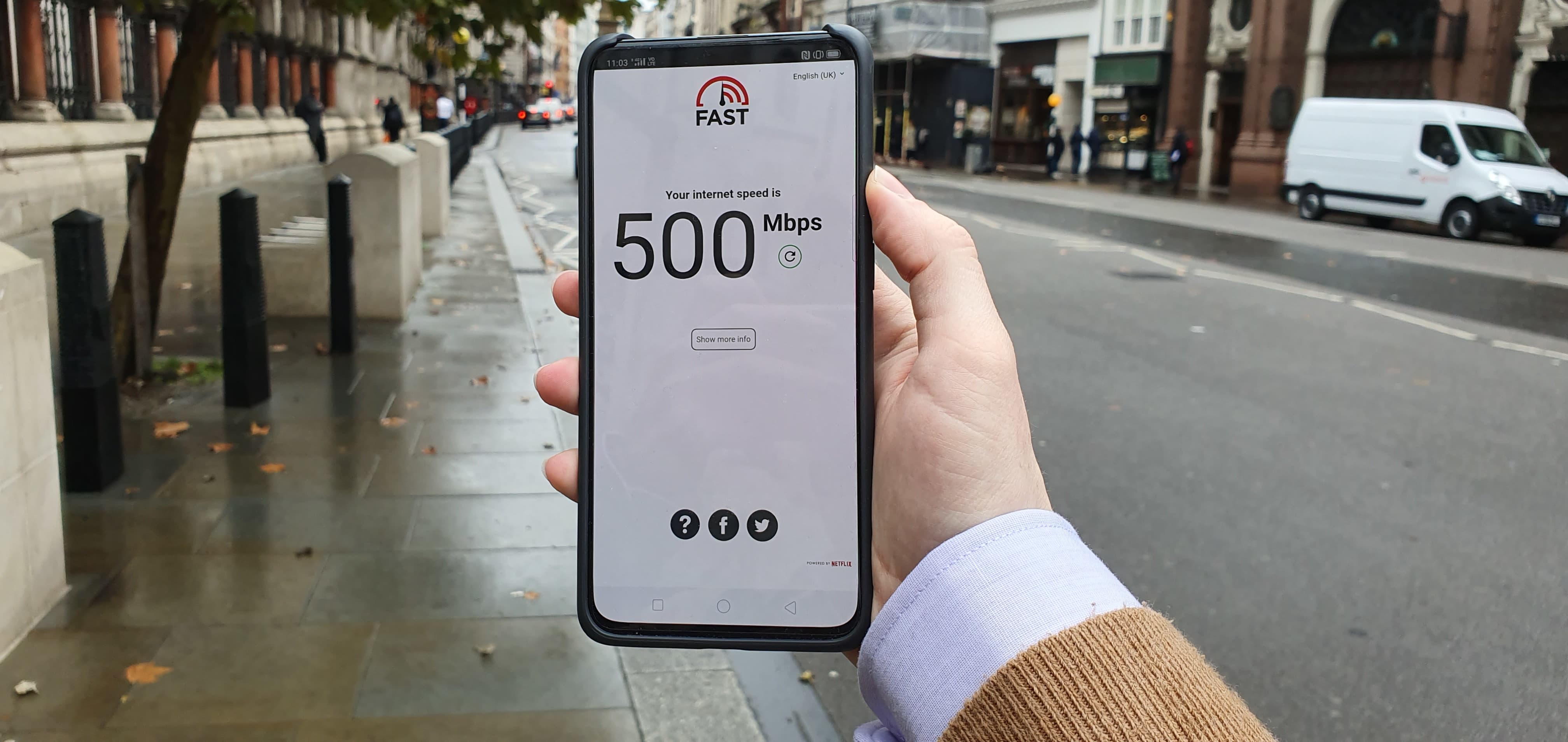 How Fast Is 5g We Tested Ee And Vodafone Networks In London Uk