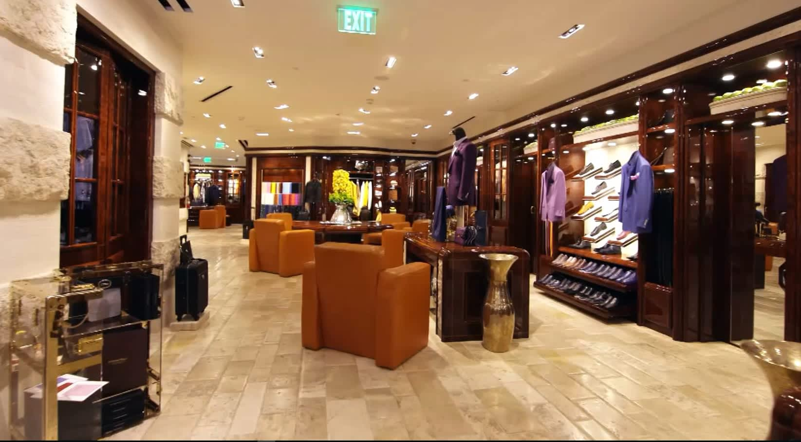 This is where some of the world's richest men shop for clothes