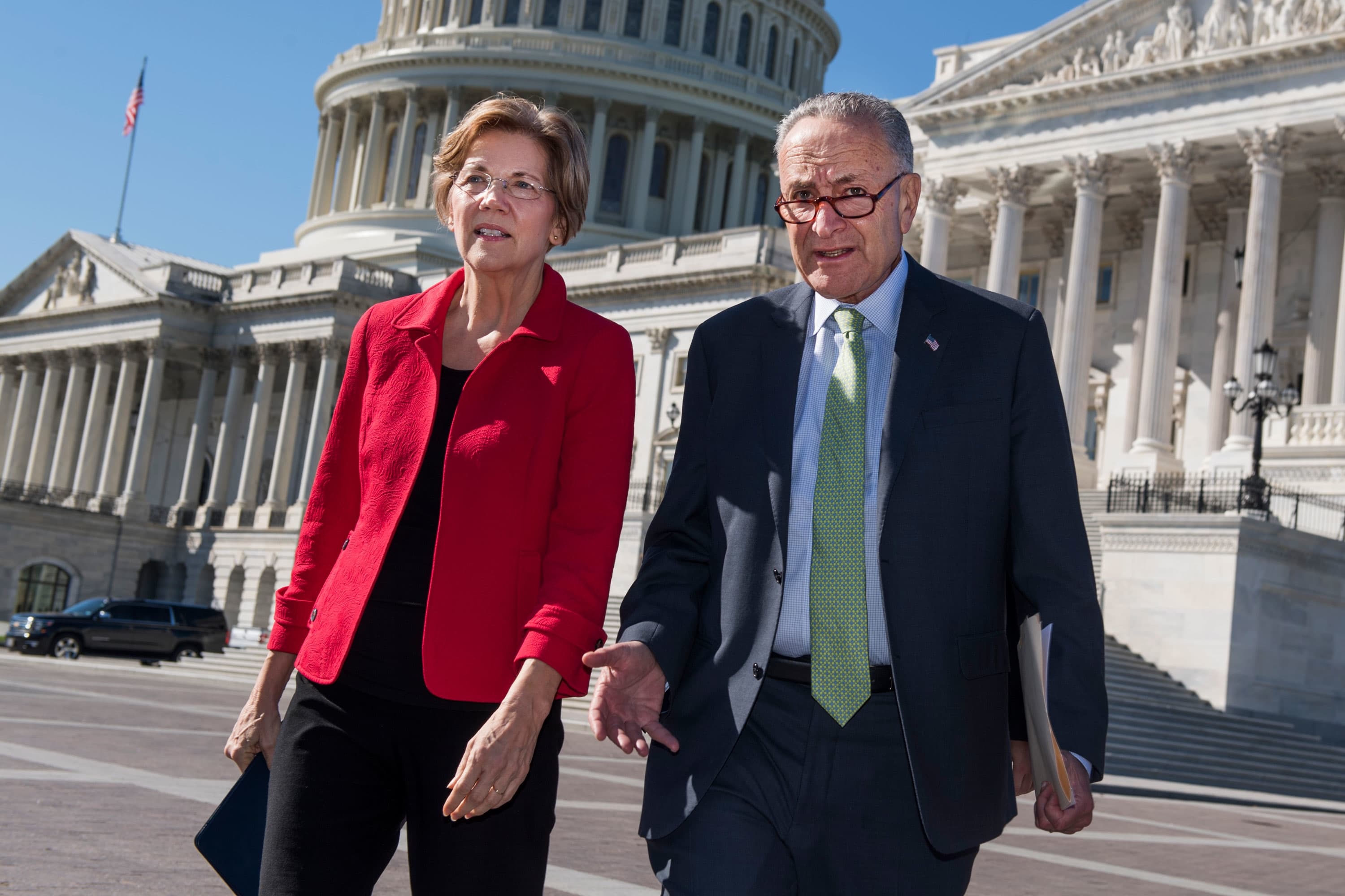 Schumer, Warren propose forgiving $50,000 in student debt for borrowers due to pandemic