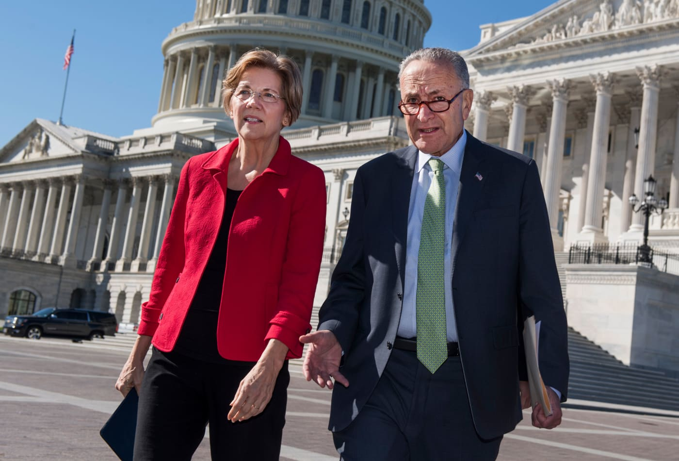 Wall Street donors are so worried about Elizabeth Warren that they are snubbing Democrats in 2020 Senate races