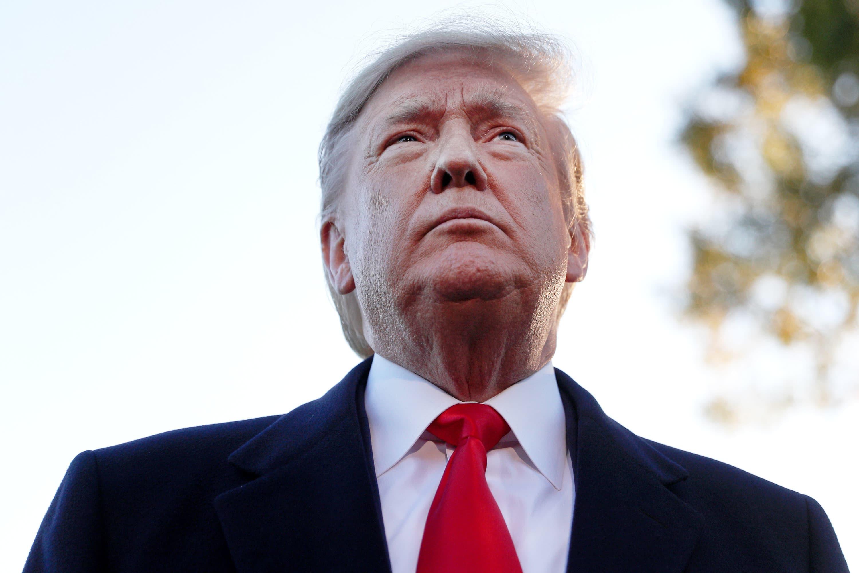 White House: Trump undergoes exam at Walter Reed