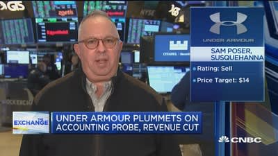 under armour news