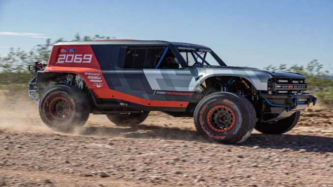 New Ford Bronco >> Ford Teases New Bronco With Race Truck