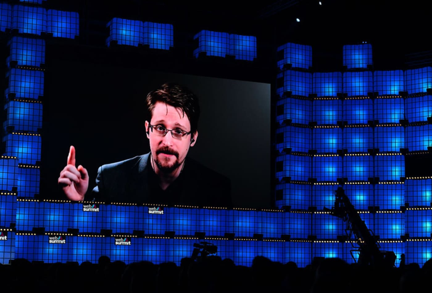Edward Snowden says 'the most powerful institutions in society have become the least accountable'