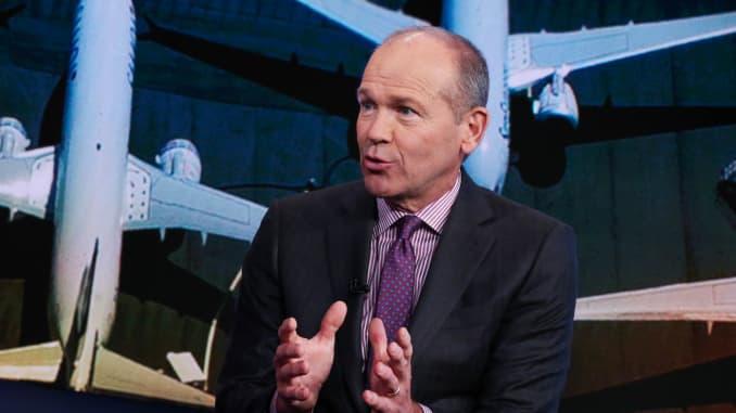 CNBC: Dave Calhoun, Chairman of Boeing SB exclusive 191105