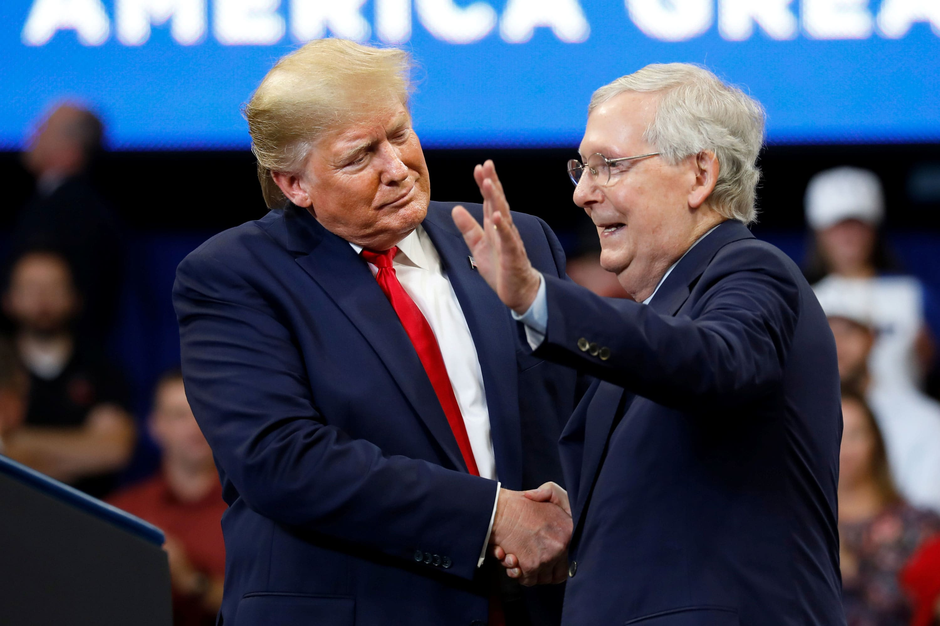 Trump aims to rally donors for McConnell-linked super PAC as GOP fights to hold Senate majority