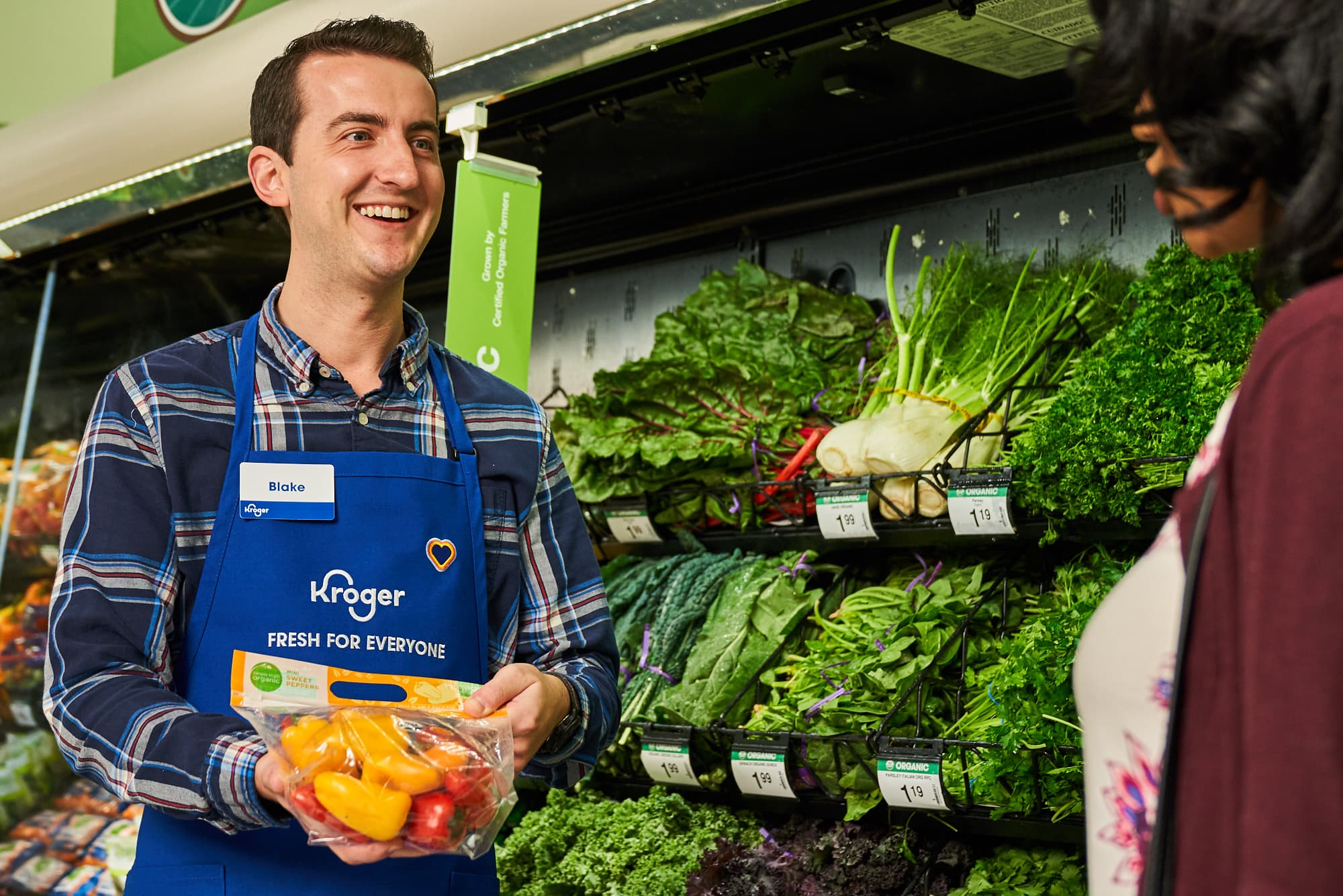 Kroger is rebranding with a new logo and slogan