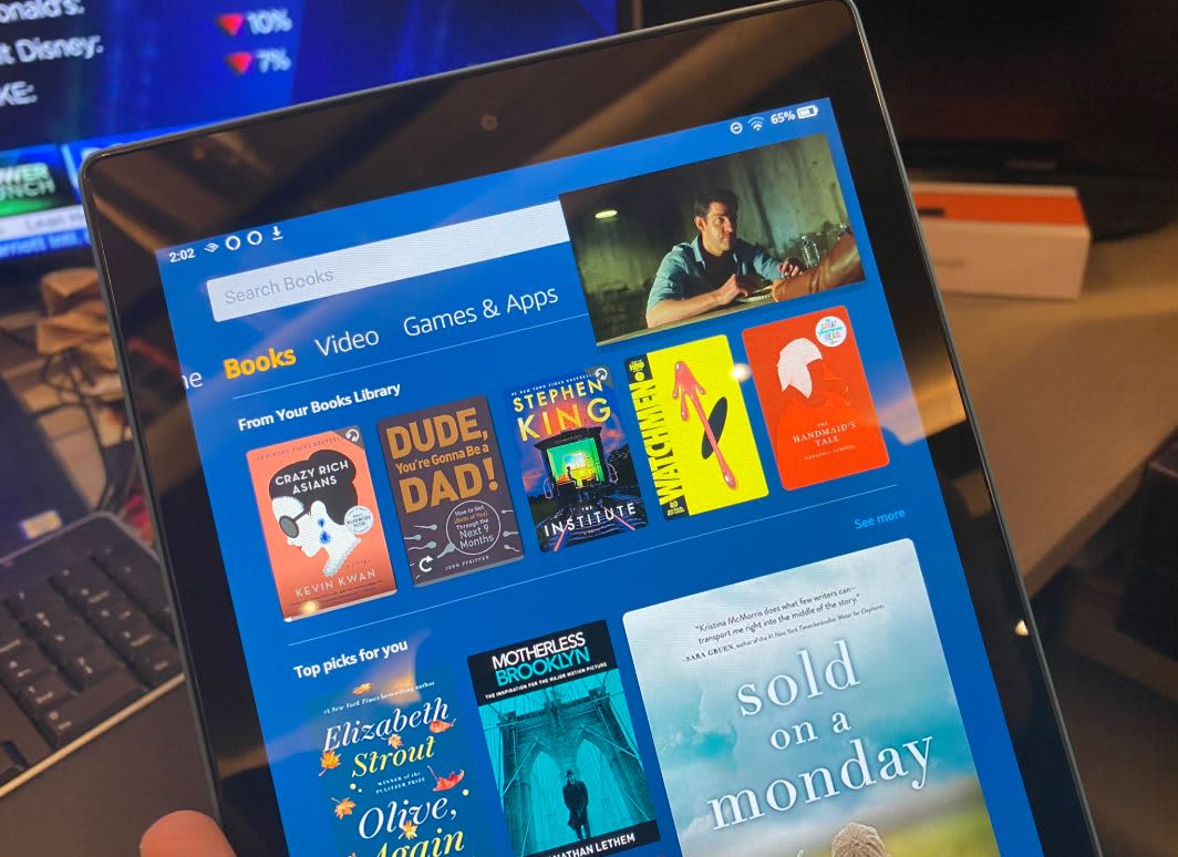 Amazon's new tablet is a great alternative to the iPad at half the price