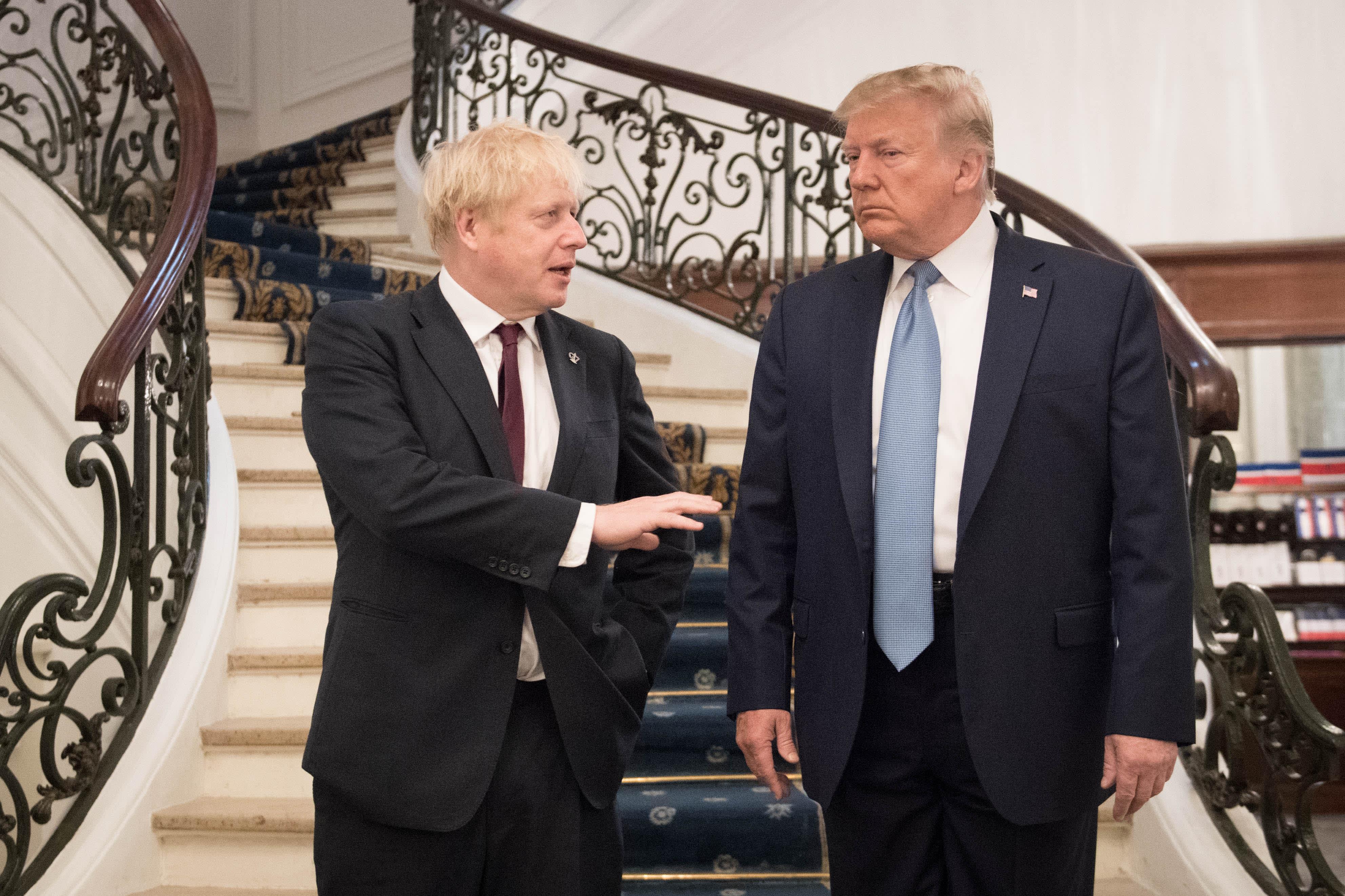 'The president and Boris will be speaking on it:' Mnuchin warns UK over digital tax plan