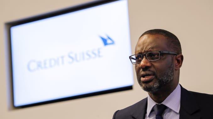 GP: Credit Suisse CEO Tidjane Thiam 191106