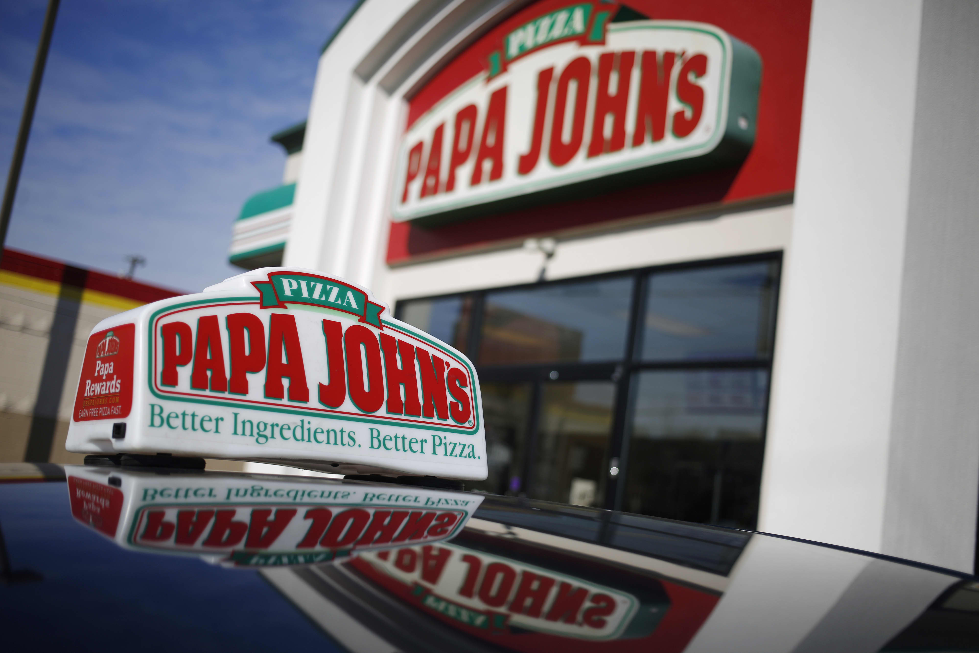 Papa John's stock jumps after executive reshuffle announcement and revenue beat