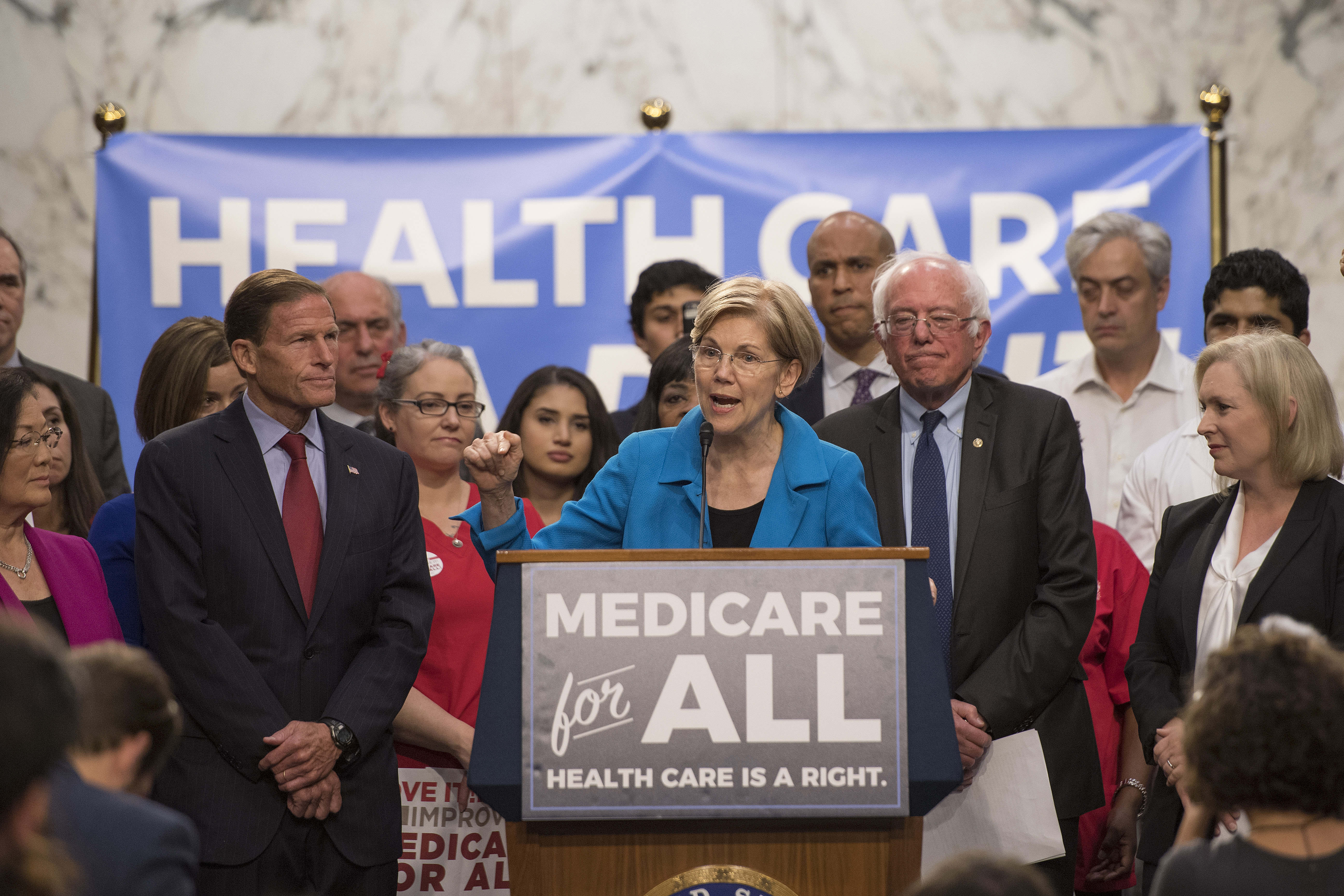 Investors are shrugging off fear of Medicare for All – for now