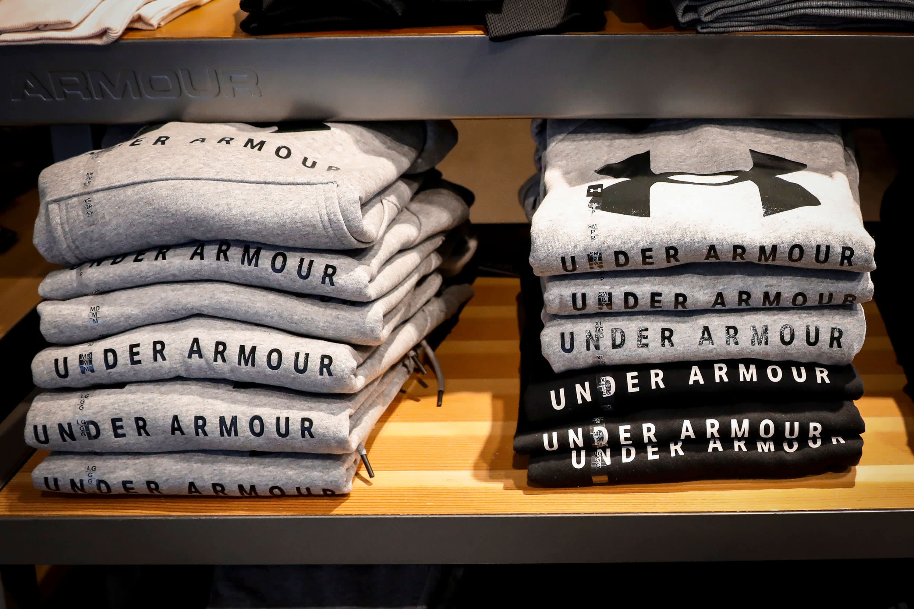 Strong online sales help stem revenue declines at Under Armour during pandemic, shares jump