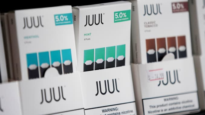 RT: JUUL e-cigarettes on sale 190926