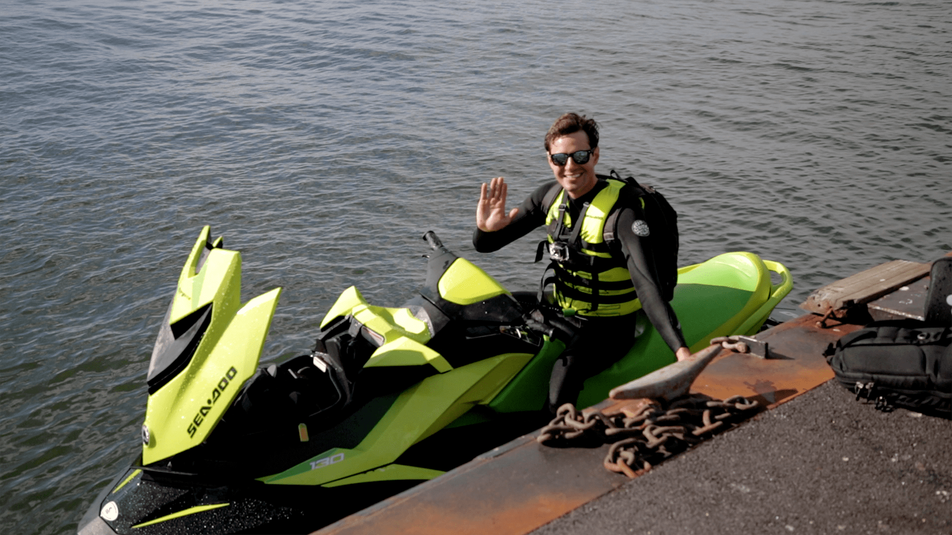 Man who jet skis to work in NYC: 'I'm just a regular guy who was fed up with his commute'