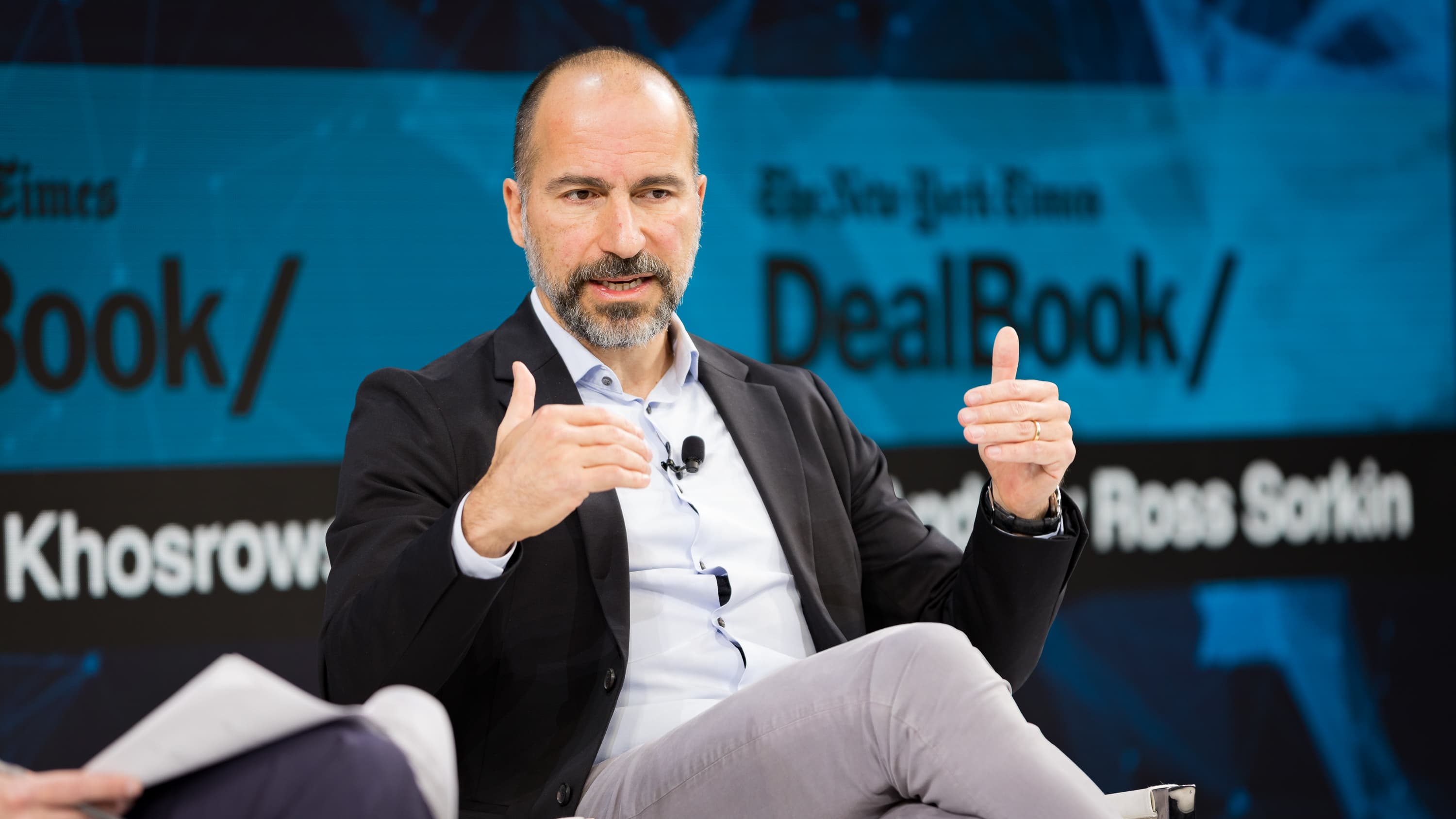 Uber CEO: 'We are very, very, very different from WeWork'