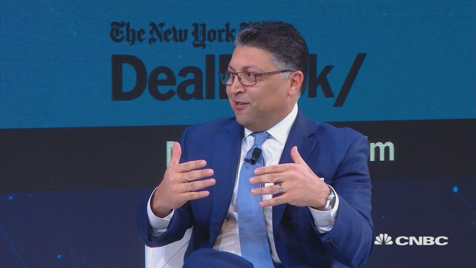 The DOJ's antitrust chief confirmed that he talks to Trump