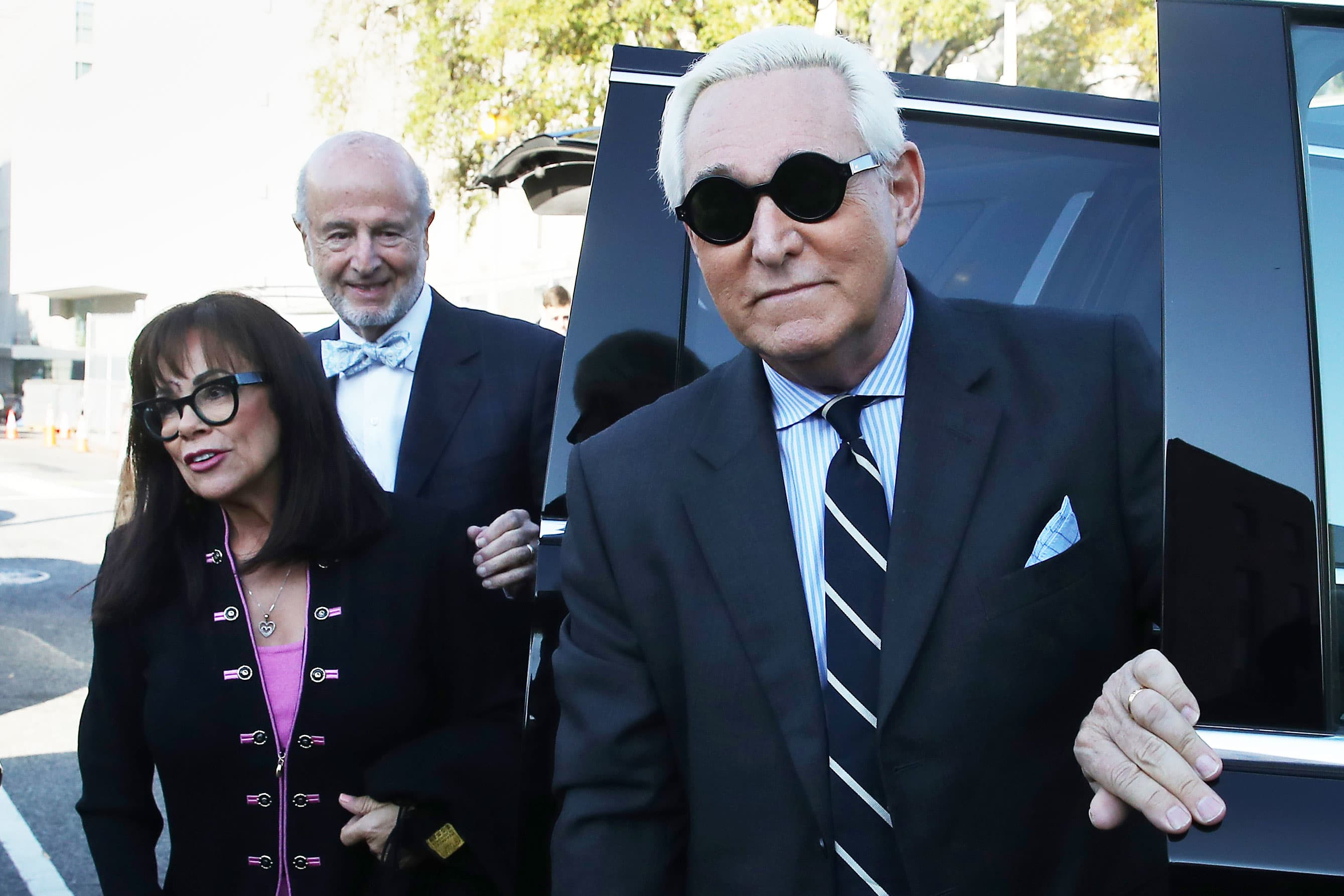 Trump talked to Roger Stone about WikiLeaks, Rick Gates says in testimony contradicting the president