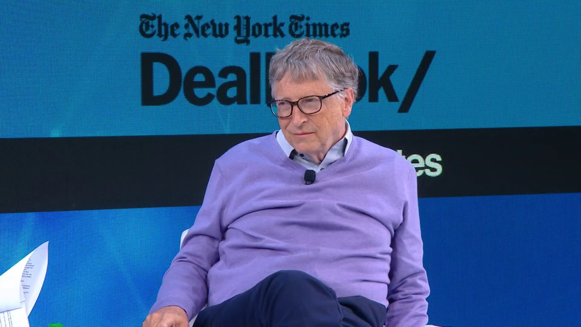 Bill Gates calls his meetings with Jeffrey Epstein 'a mistake'