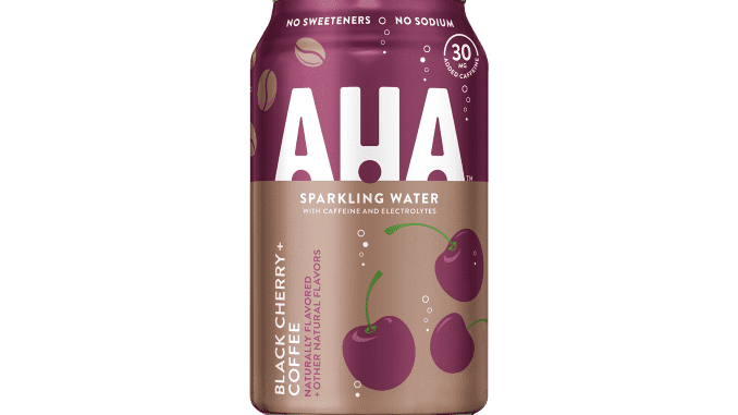 H/O: AHA Sparkling water from Coca-cola 191107