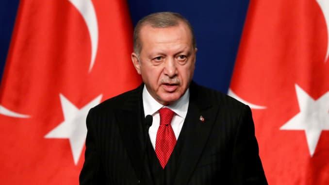 RT: Recep Tayyip Erdogan, 191107