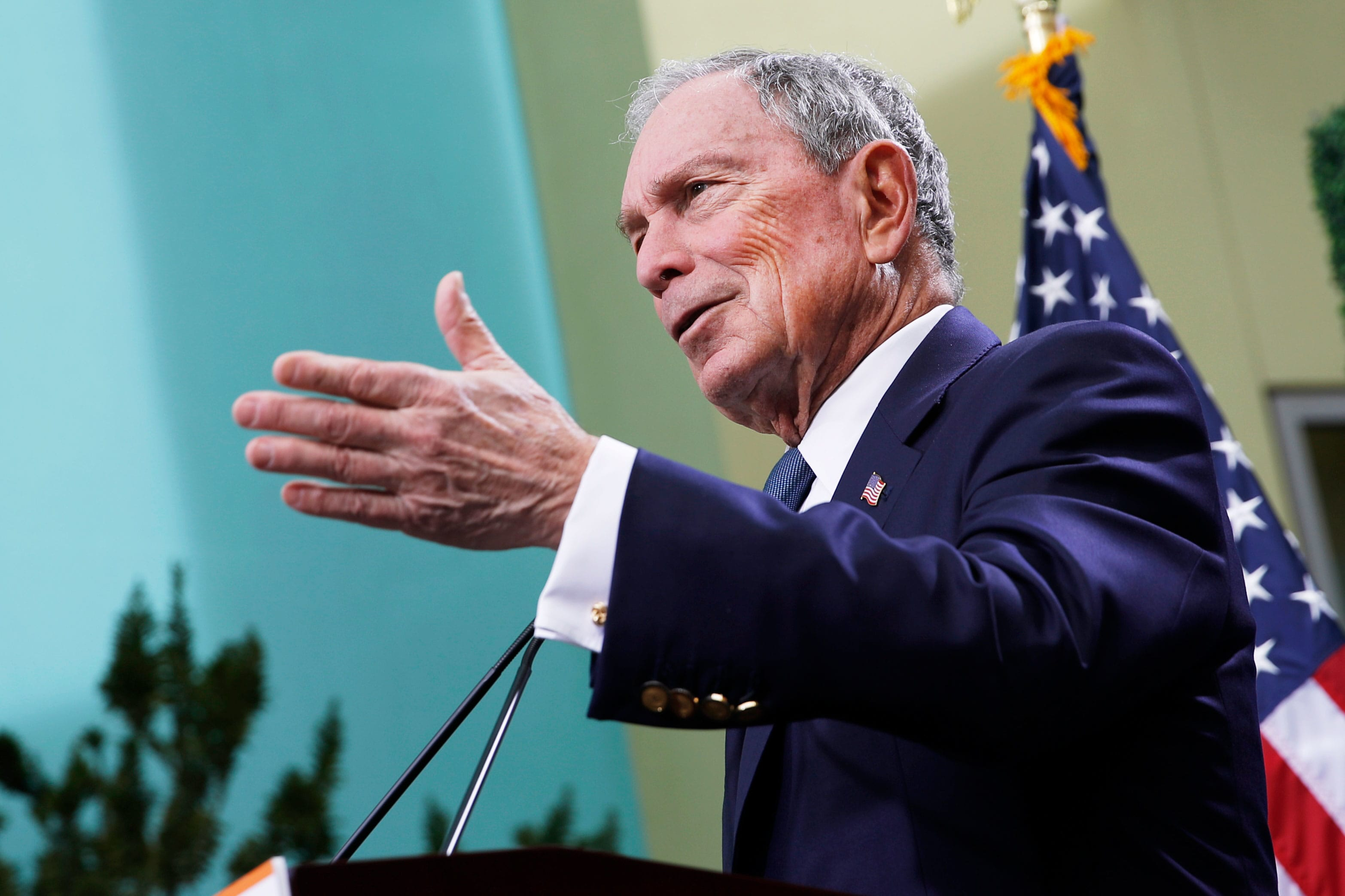 Pollster: 'Mike Bloomberg has more money than God,' so he can be a 2020 contender any time