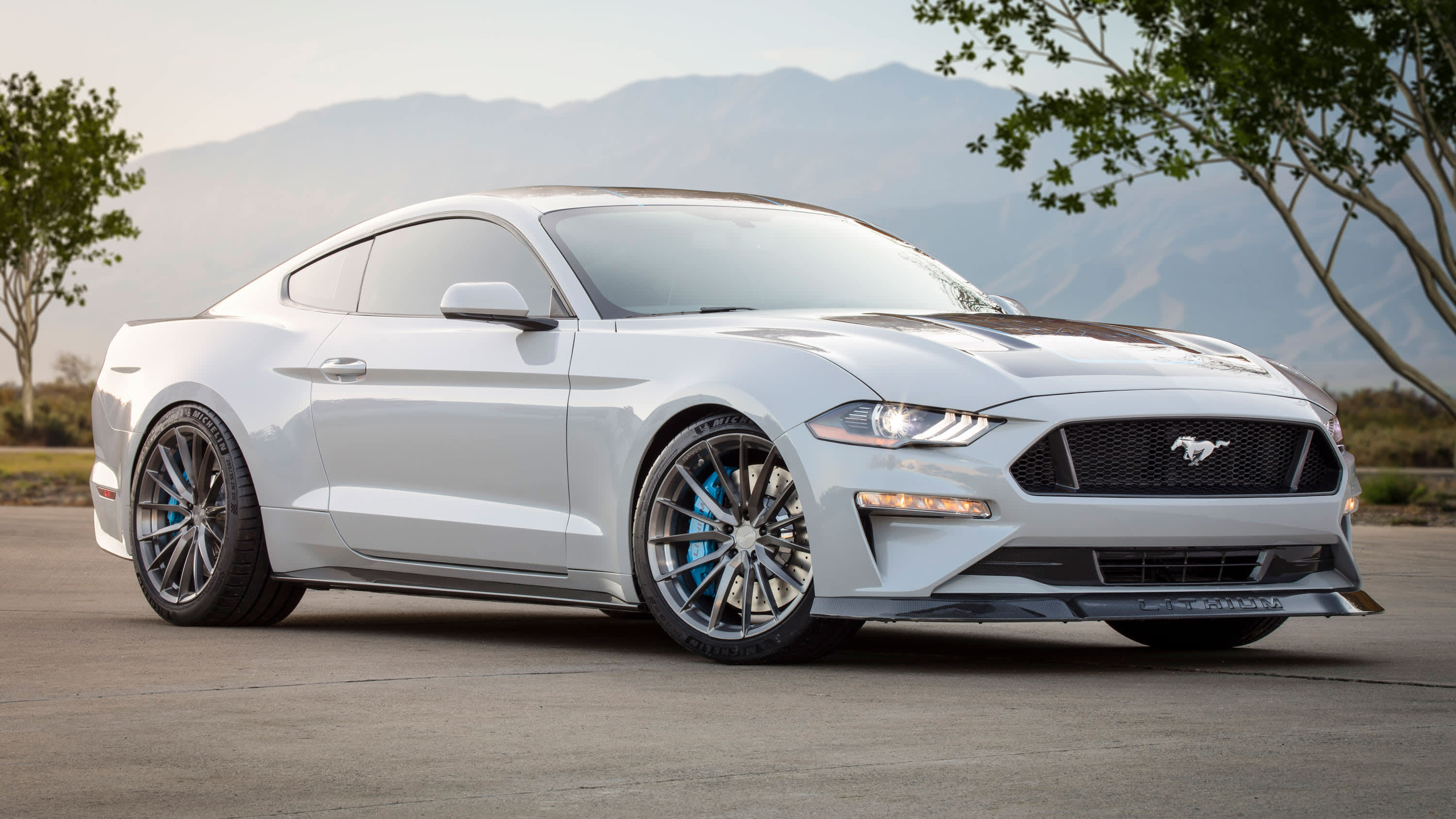Auto parts companies show off new electric technology at SEMA show in Vegas