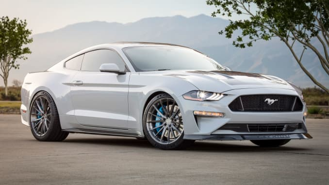 Sema Auto Show 2020.Auto Parts Companies Show Off New Electric Technology At