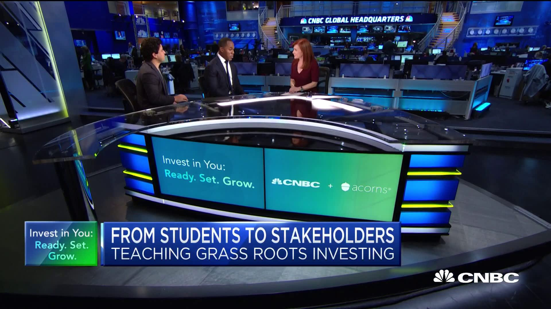 Project Destined and Acorns bring investing education to youth