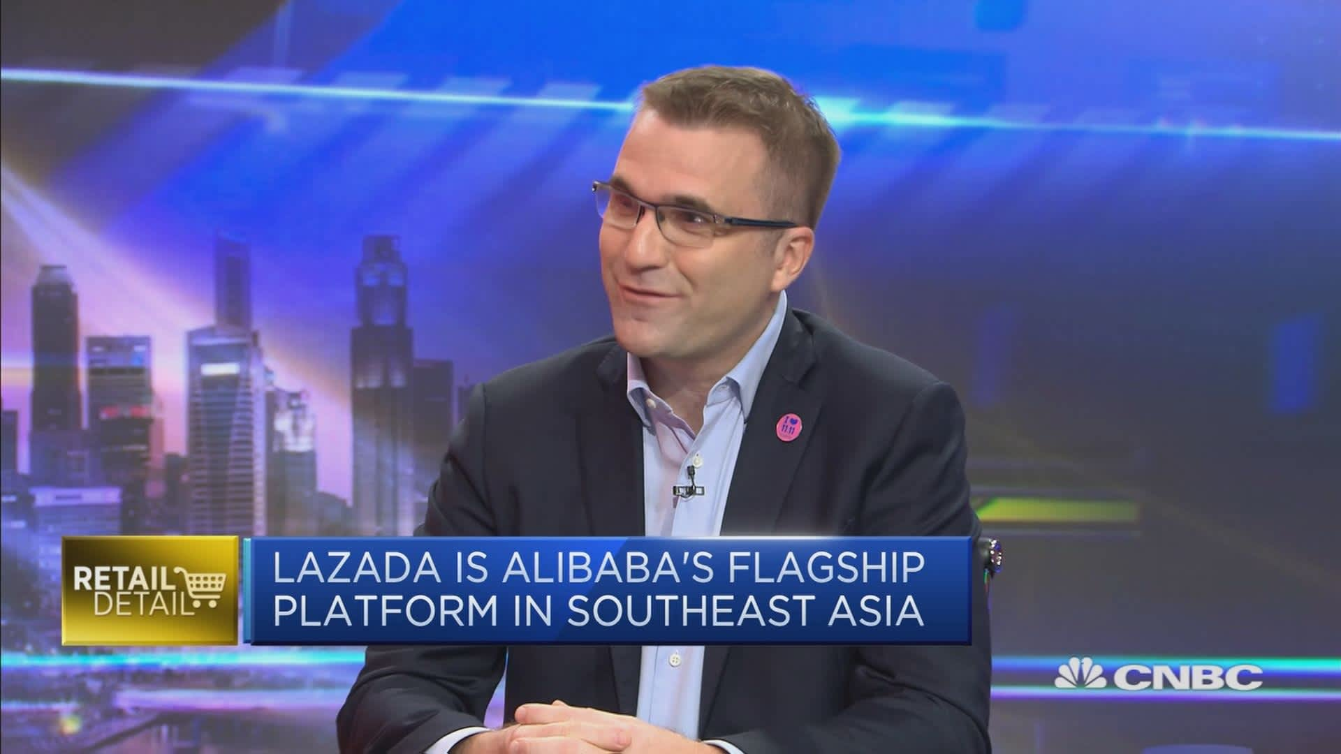 Singles Day was 'amazing' for Lazada, says CEO