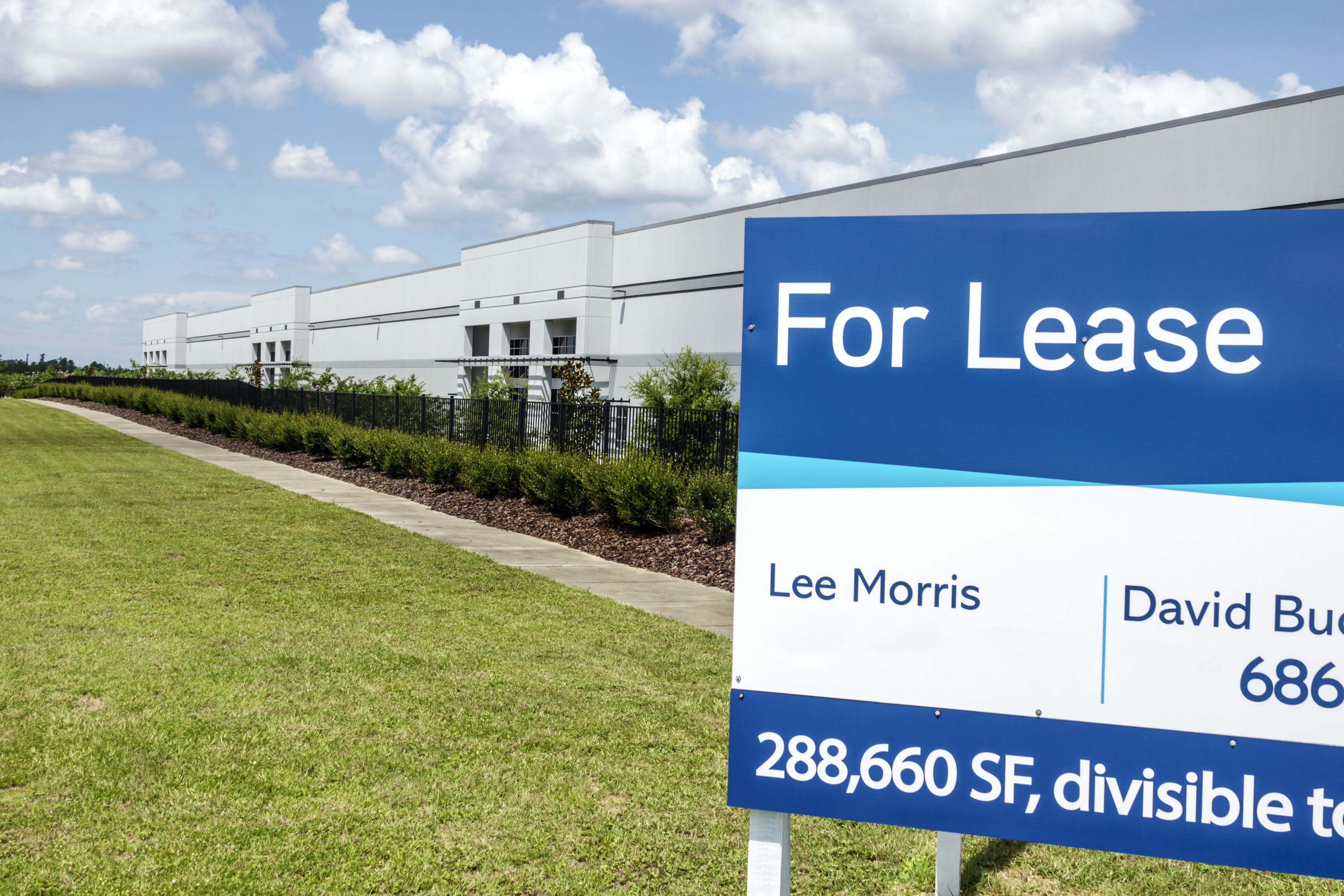 Warehouse leasing plummets – because there's so little new space to lease
