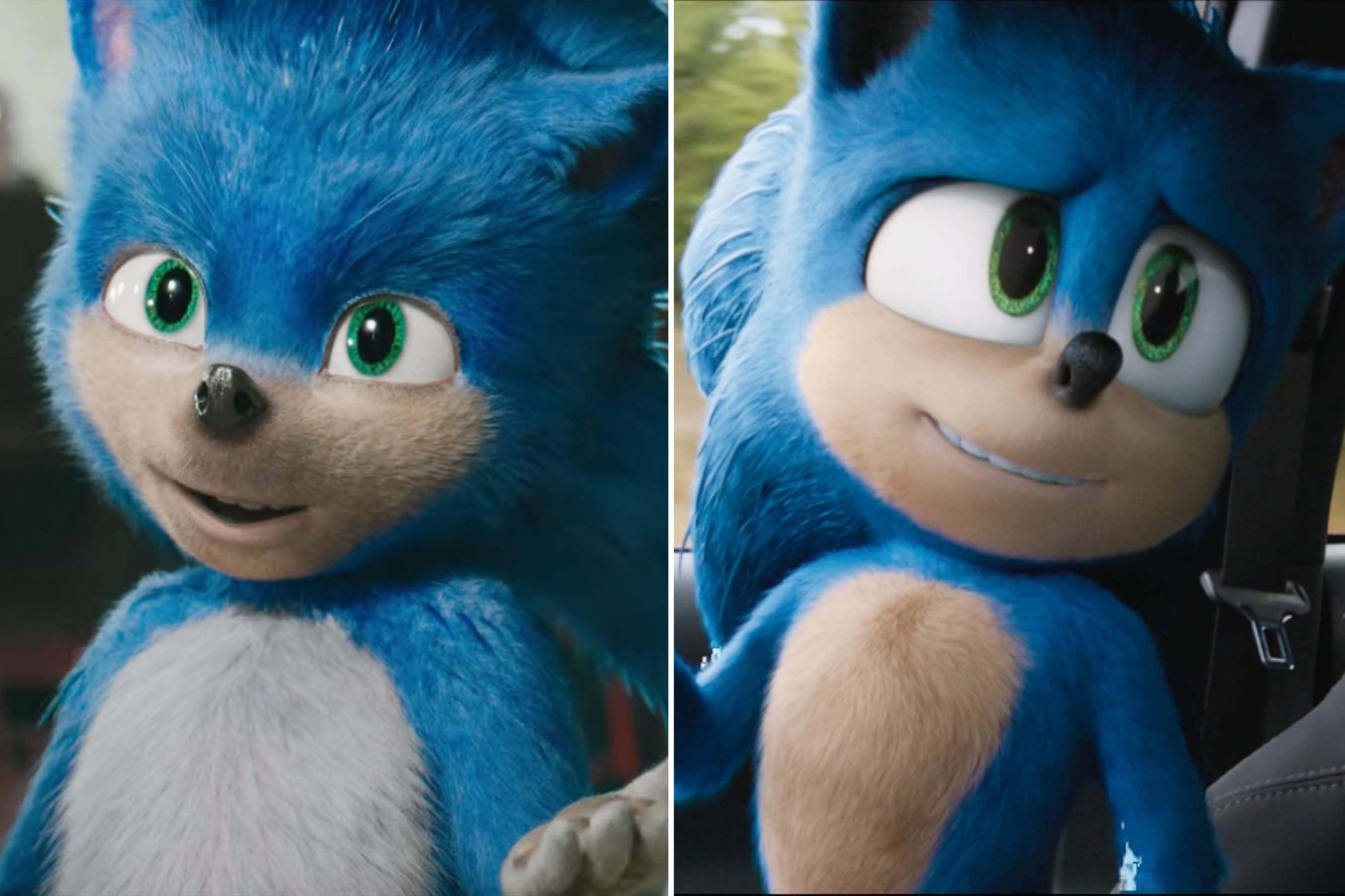 Paramount Pictures Releases Trailer With Revamped Sonic The Hedgehog