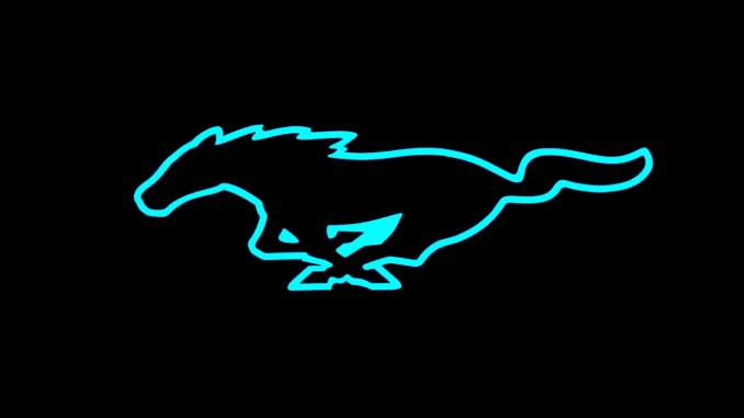 H/O: Ford Mustang EV logo