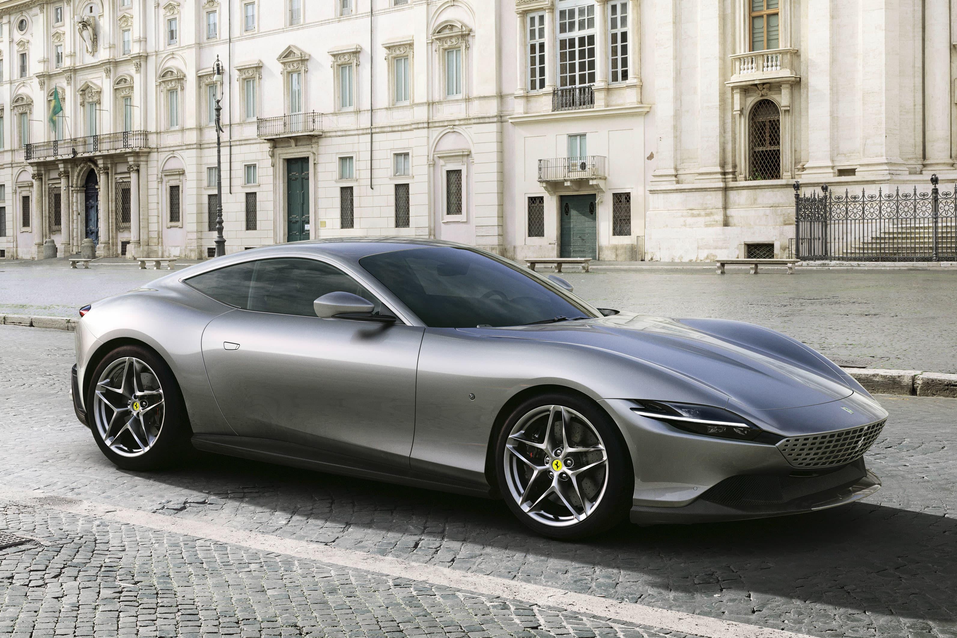 Ferrari unveils new 600,horsepower \u0027Roma\u0027 model