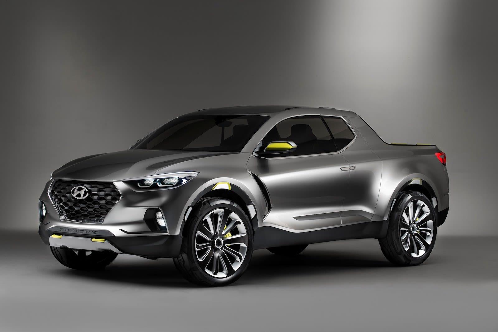 Hyundai will make its Santa Cruz pickup trucks at its Alabama plant in 2021