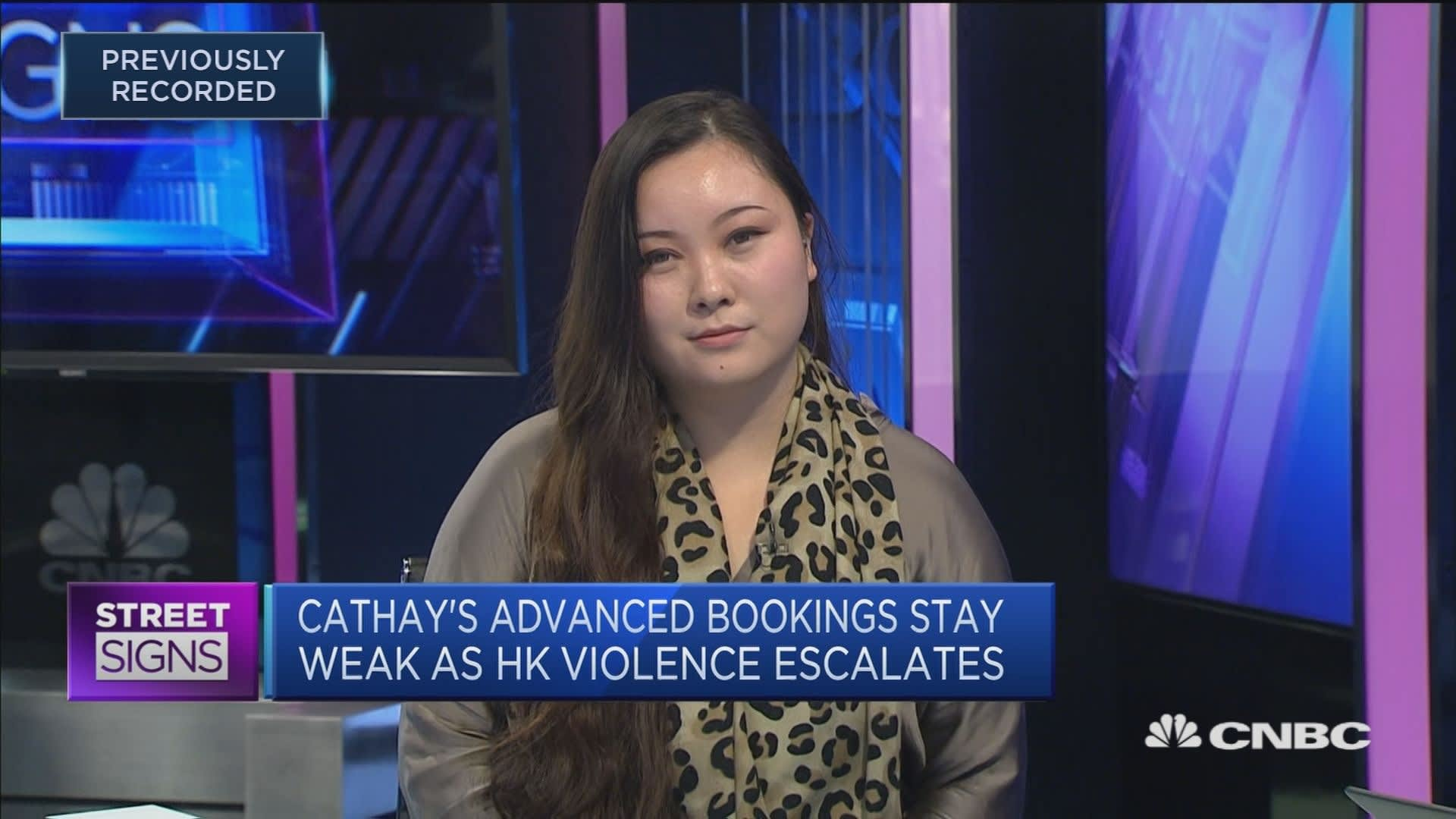 Analyst: Expect Cathay to make a 'minor loss' for 2H of 2019