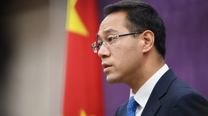 GP: Chinese Ministry of Commerce spokesman Gao Feng GCHINA-US-TRADE
