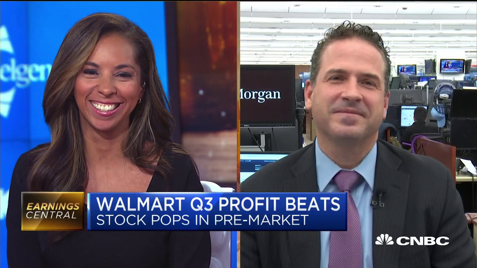 Walmart raising guidance suggests the consumer is strong, analyst says